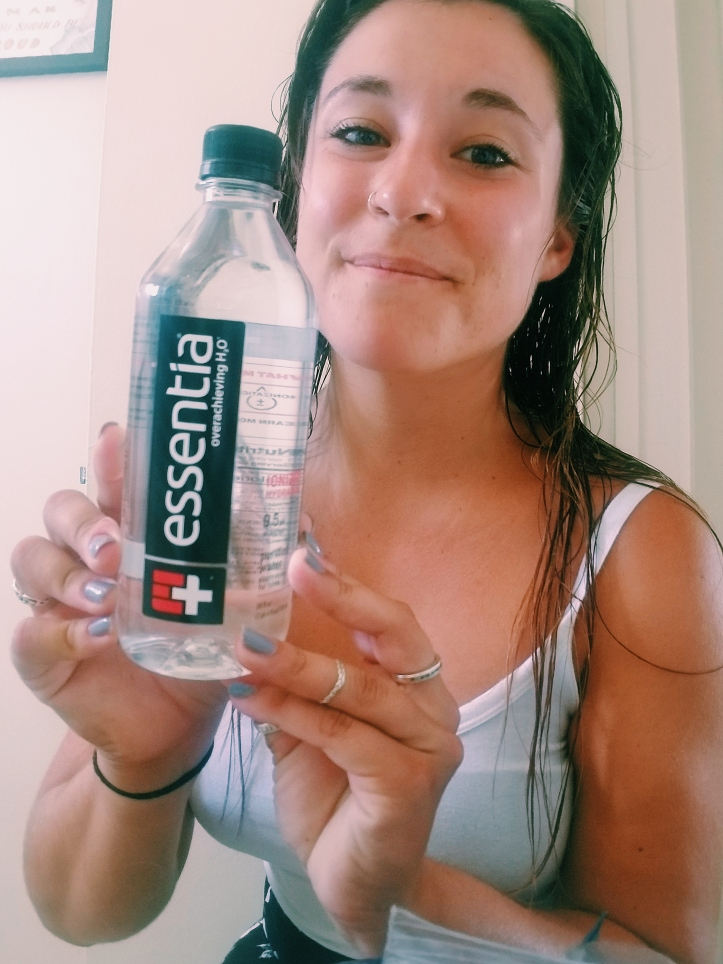 best water for athletes Essentia