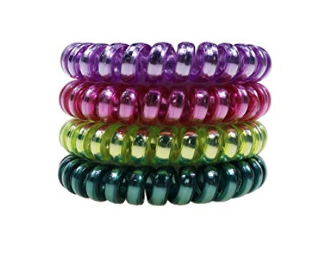 best gifts for fitness enthusiasts, spiral hair ties