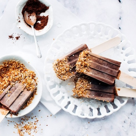 fudge pudding pops, dairy-free desserts